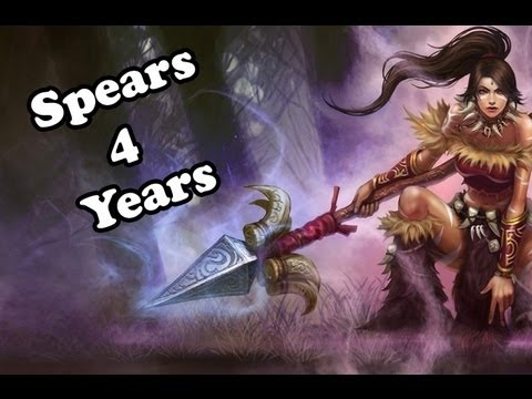 Spears for years, a Nidalee compilation