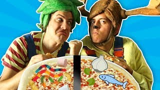 Trick and Flick | Pizza Toppings!