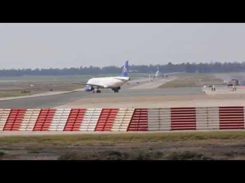 CYPRUS AIRWAYS LAST FLIGHT.LARNACA TO UK ST. 2015