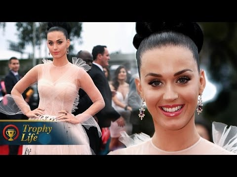 Katy Perry Music Dress Grammy Awards 2014 Red Carpet
