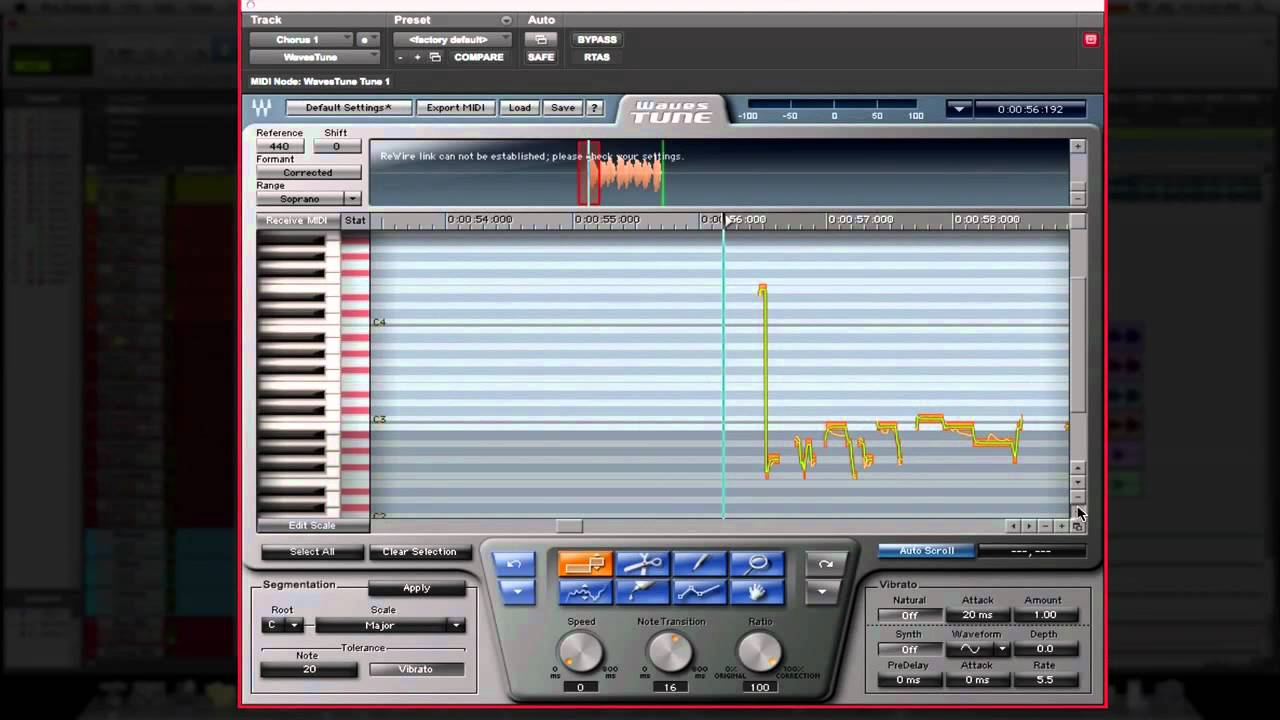 Pro tools tips amp tricks waves tune youtube
