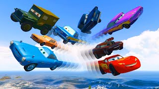 Download Cars Party McQueen Finn McMissile Sarge Snot Rod Ramone Grem Tomber Trunkov Videos for Kids Songs 3Gp Mp4