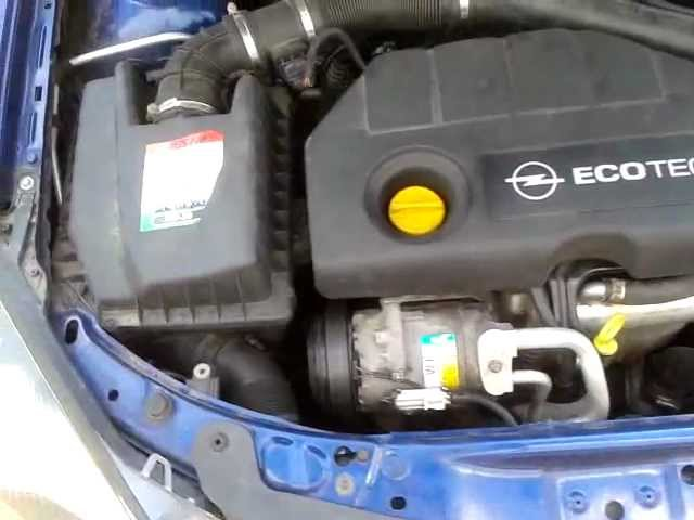 Opel Astra H 1,7 CDTI motor problem? - YouTube
