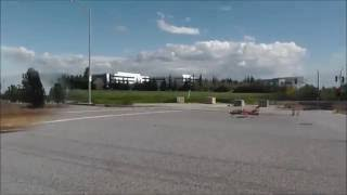 RC super jet takeoff and landing