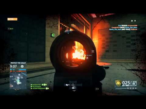 Battlefield Hardline Heist Beta Gameplay