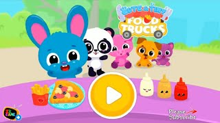 Fun Baby Care Kids Game  - Cute & Tiny Food Trucks - Cooking with Baby Pets - Funny Educational Game
