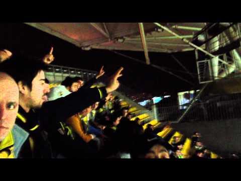 300 Kişi geldik ve Ağzına ... Sokmaya Geldik Bir Arada / 05/02/2012 Fenerbahçe - Beşiktaş