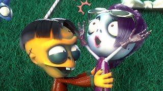 Zombie Dumb | 좀비덤 | Hana Gets Festive! | Christmas Tree | Zombie Cartoon | Videos For Kids