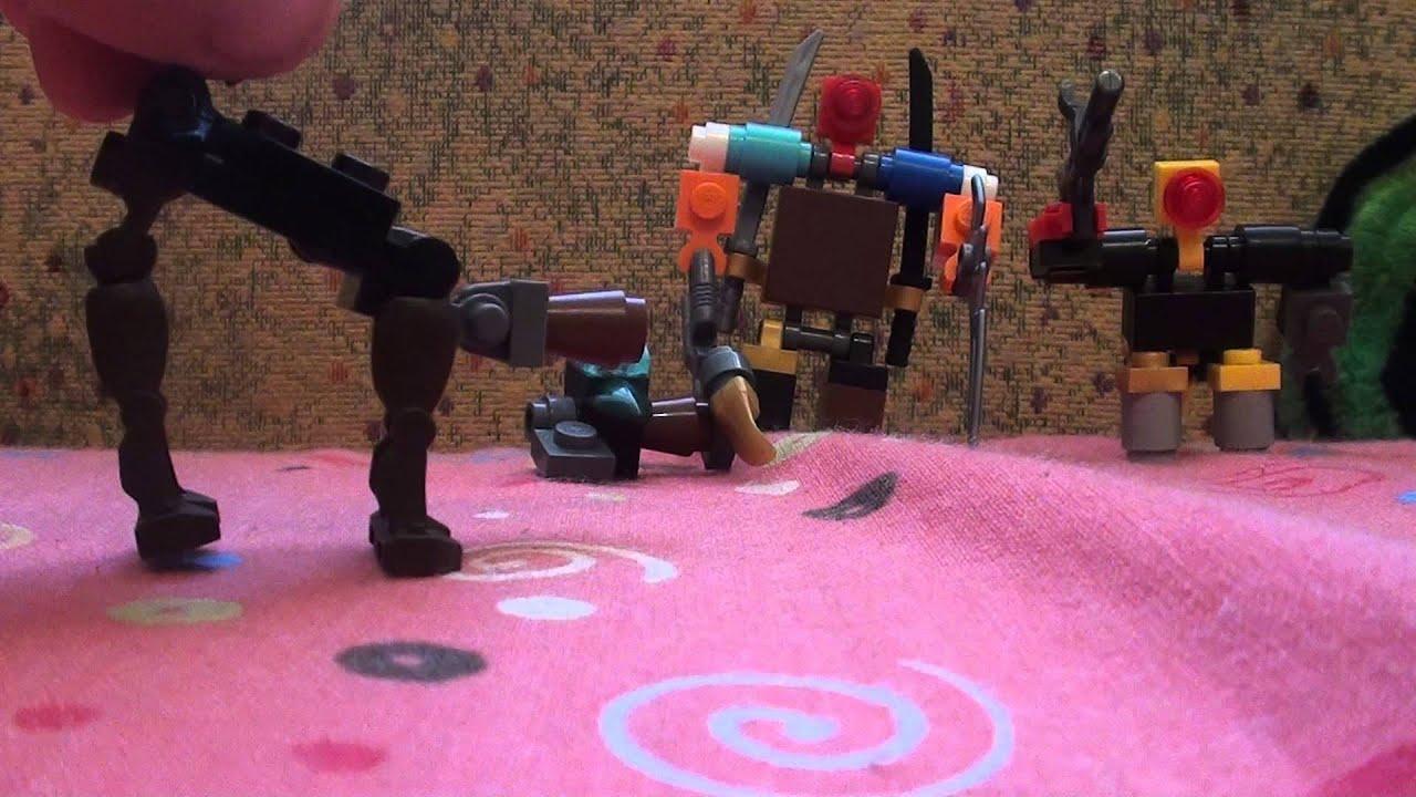 Как сделать из лего механизм робота