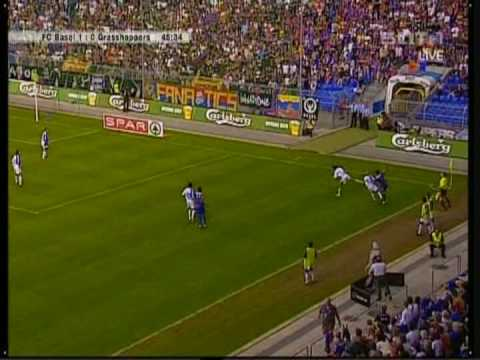 Basel against Grasshoppers.