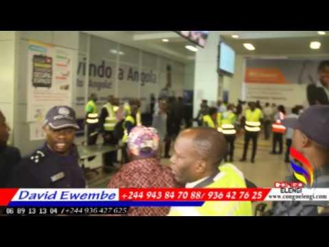 FERRE GOLA AKITI NA AEROPORT YA LUANDA SOMO BATU BA KUFI, Angola Luanda