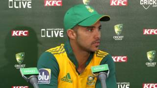 Proteas take positives from T20 series loss