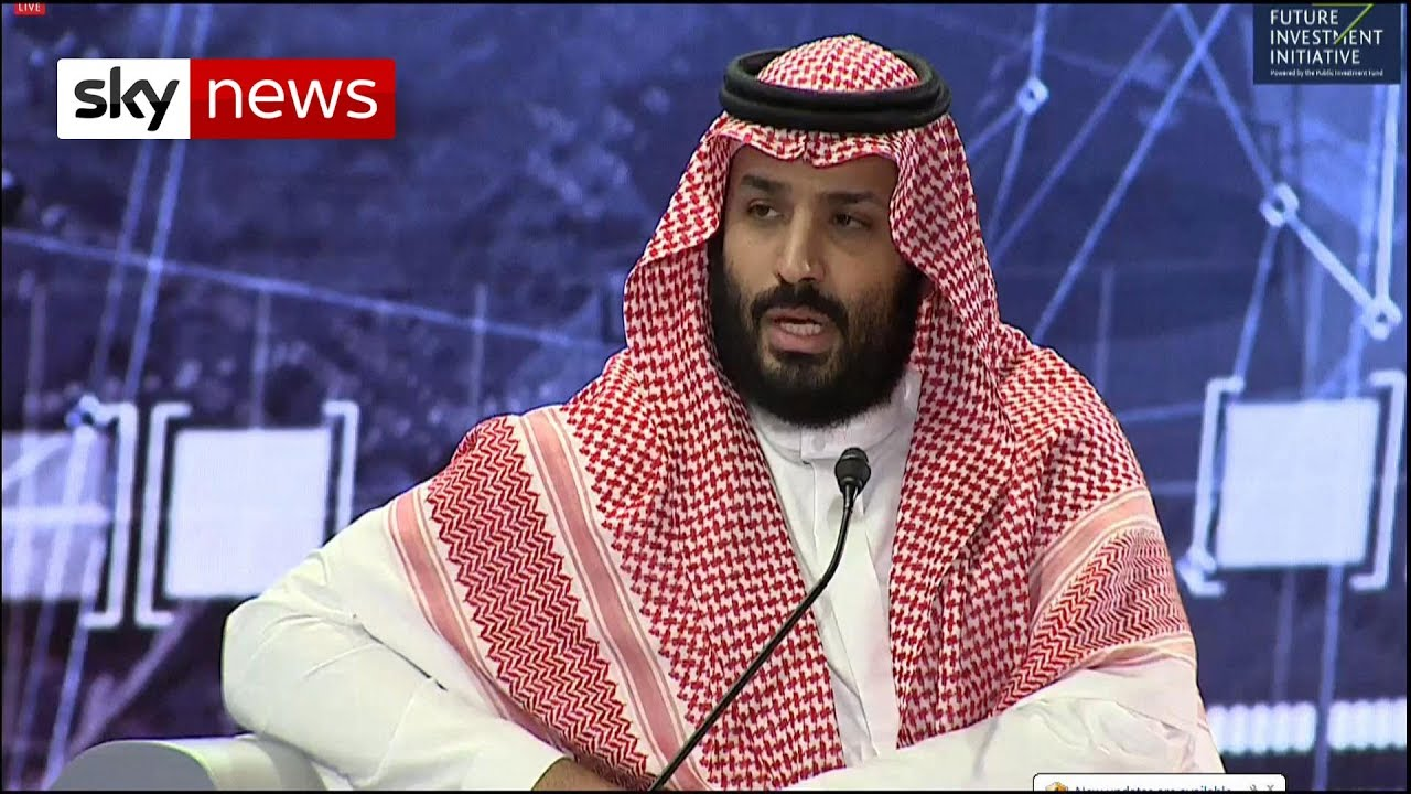 Breaking News: Saudi Crown Prince speaks for the first time since the murder of journalist