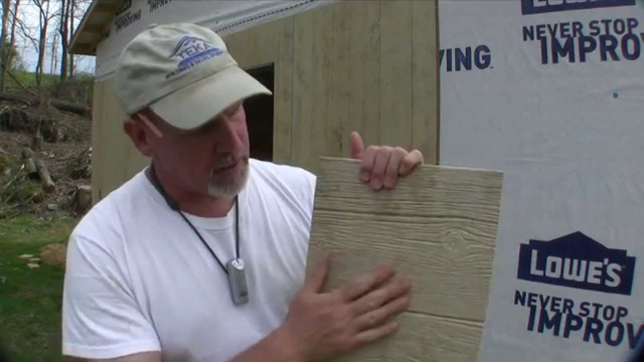 Pole Barn Knotty Barnside Paneling Siding Youtube