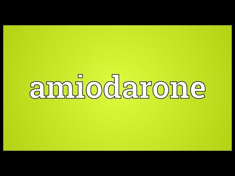 Header of Amiodarone