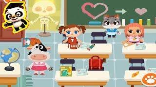 Dr Panda Town - Episode 6   Dr Panda SCHOOL   Panda Games for kids   Best app demo for Kids   Games