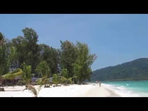 Koh Lipe Thailand Sunrise Beach 2012 High Tide Andaman