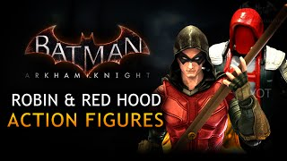 Batman: Arkham Knight - Robin and Red Hood Action Figures