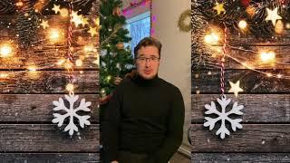 Священник о. Константин поздравляет друзей и слушателей Свободного радио с Рождеством и Новым Годом!