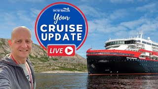 Cruise Live #9 : Hurtigruten Covid Outbreak Latest