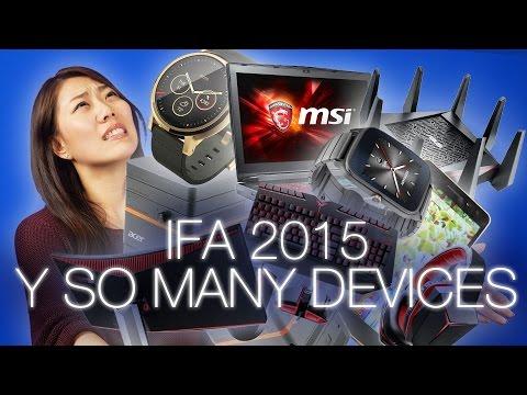 IFA 2015 Tech News Roundup! Sony Xperia Z5, Moto 360, Gaming laptops