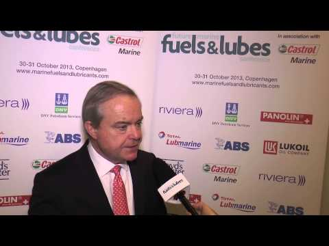 Robin Meech interview at Riviera's Future Marine Fuels and Lubes Conference Copenahgen