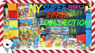 My Super Zings series 2 collection 🎄 The 12 days of Christmas 🎄 DAY 3