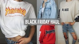 TRY-ON BLACK FRIDAY HAUL 2016!! (PacSun, Topshop, Urban Outfitters, + more!)| Mel Joy