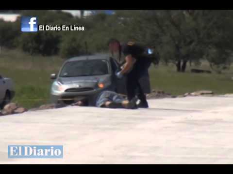 Asesinan a hombre en la salida a Delicias