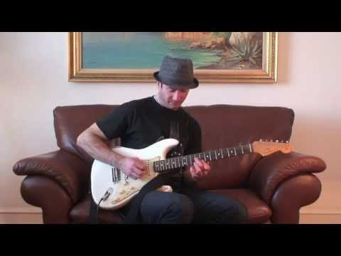 Blues Guitar Riff In The Key Of G - Electric Blues Guitar Lesson