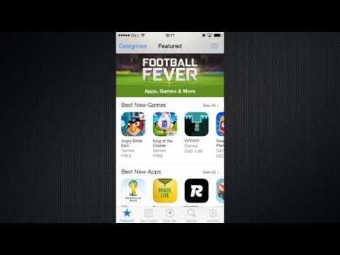 Как установить приложение из App Store с iPhone