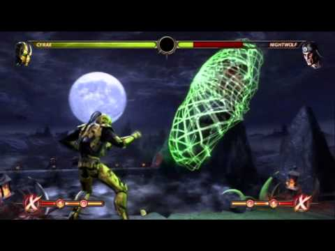 NEW HIGH DAMAGE MK9 CYRAX COMBOS BY TONY-T