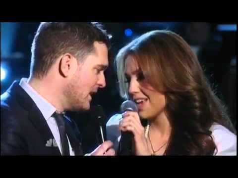 Michael Buble Ft Thalia -  Mis Deseos   Feliz Navidad (nbc - A Michael Bublé Christmas) video
