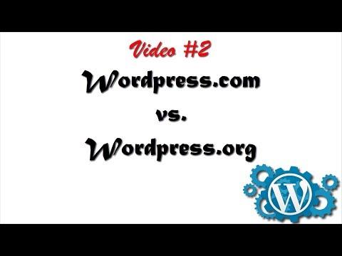 Diferencias entre Wordpress.com y Wordpress.org ¿Cual te conviene más?
