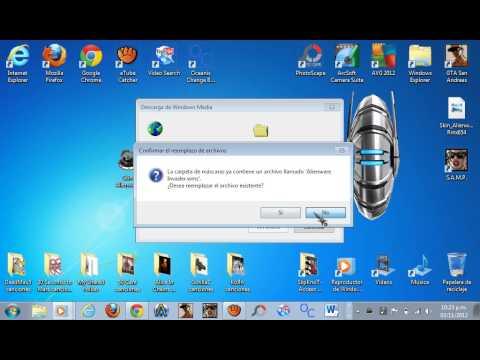 Como descargar Alienware (reproductor de musica)
