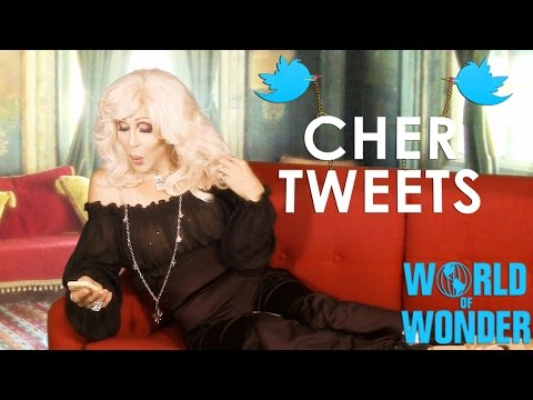 Cher Tweets with Chad Michaels - Bad Tweeter & The Titanic