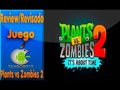 Review De Juego Plants vs Zombies 2 En español 2013