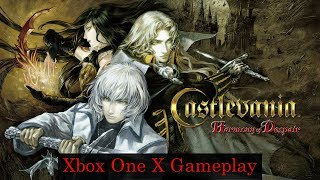 Castlevania HD: Harmony of Despair - Xbox One X Backwards Compatible Gameplay