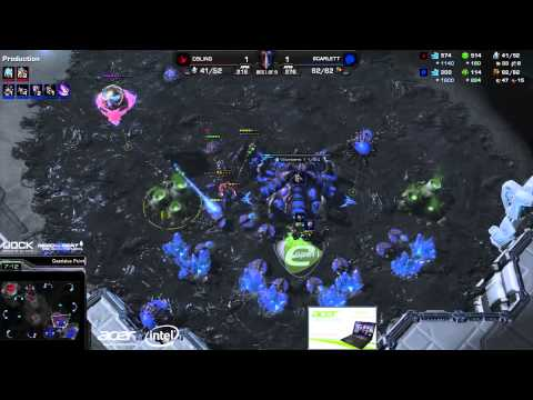 Scarlett vs. Bling (ATC) - Acer vs. coLDignitas - Game 3 - StarCraft 2