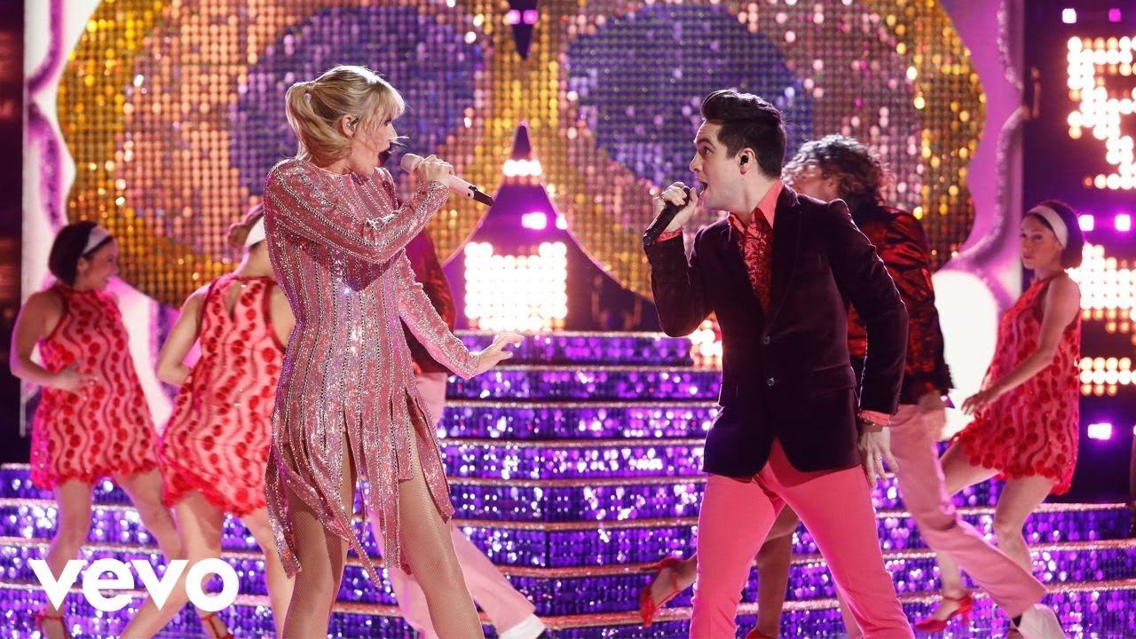 "Taylor Swift - 米NBC「The Voice」にて""ME! (ft. Brendon Urie)""を披露 ライブ映像を公開 thm Music info Clip"