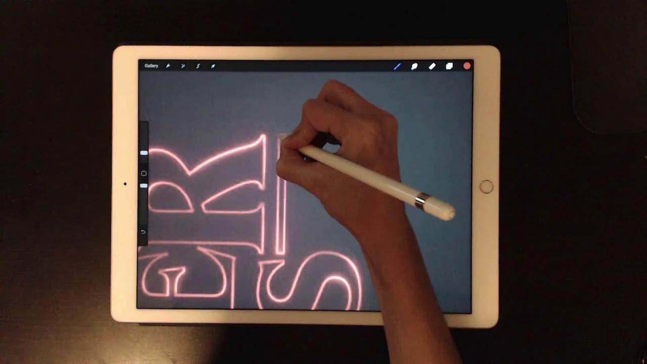 Ipad pro logo design