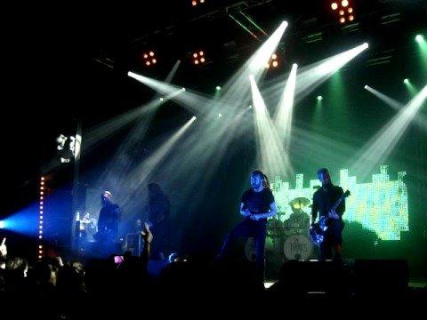 In Flames - Trigger - Granada 14-Oct-08