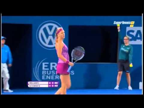 Serena WILLIAMS vs Victoria AZARENKA WTA Brisbane international 2014- Highlights - FINALS