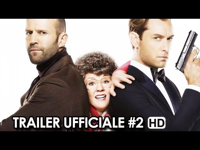 Spy Trailer Ufficiale Italiano #2 (2015) - Melissa McCarthy, Jason Statham HD