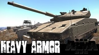 ArmA 3 - Heavy Armor - Tanks, Self-propelled Artillery, MLRS