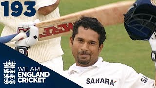 The Little Master At His Best: Tendulkar Hits His 30th Hundred | England v India 2002 - Highlights