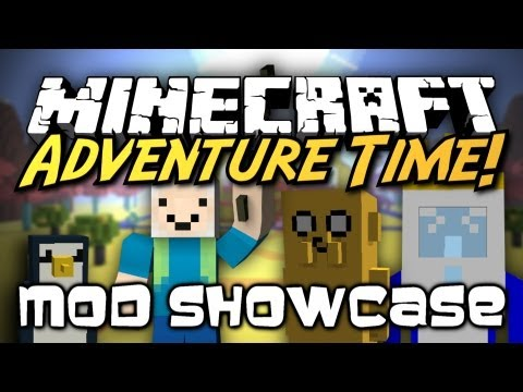 Minecraft Mod Showcase : Adventure Time VISIT THE LAND OF OOO FIGHT THE ICE KING