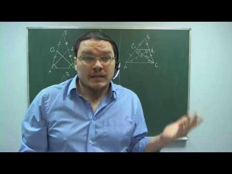 #БотайСоМной #008. Свойства и признаки равнобедренного треугольника. Теорема Штейнера — Лемуса I