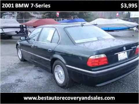 2001 BMW 7-Series Used Cars Seattle WA