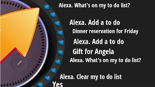 Basic To Do List Voice Commands For Alexa